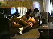 Laura caught on hidden webcam having sex with her black secret lover