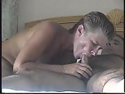 Super-hot and sexy glamour perceive good eating blowjob