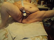 New vid 4 showing off plumper masturbating with big vibrator