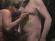 Toying with each others nipples kneading squashing and suckling