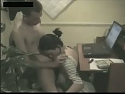 Webcam couple office fuckfest