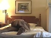 Nymphomaniac wife has a supreme laughing climax while riding dick
