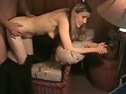 Wife sucking cock and pulverized doggystyle