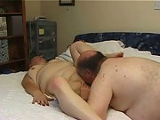 Mature obese couple wife porn vid oral sex and fucking