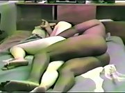Fur covered wifey liking an bi-racial threeway