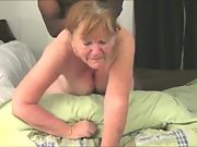 Granny's little secret - finds and meets up with bbc to give her a good ass-fucking