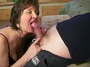 The older the better she knows how to suck a man-meat
