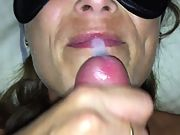 Another massive facial for the wife