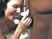 Cuckold milky housewife totally satisfied by horny black fuckers gang
